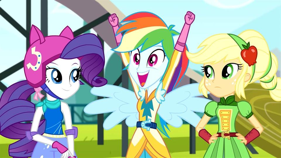 My Little Pony: Equestria Girls 3 - Igrzyska Przyjaźni