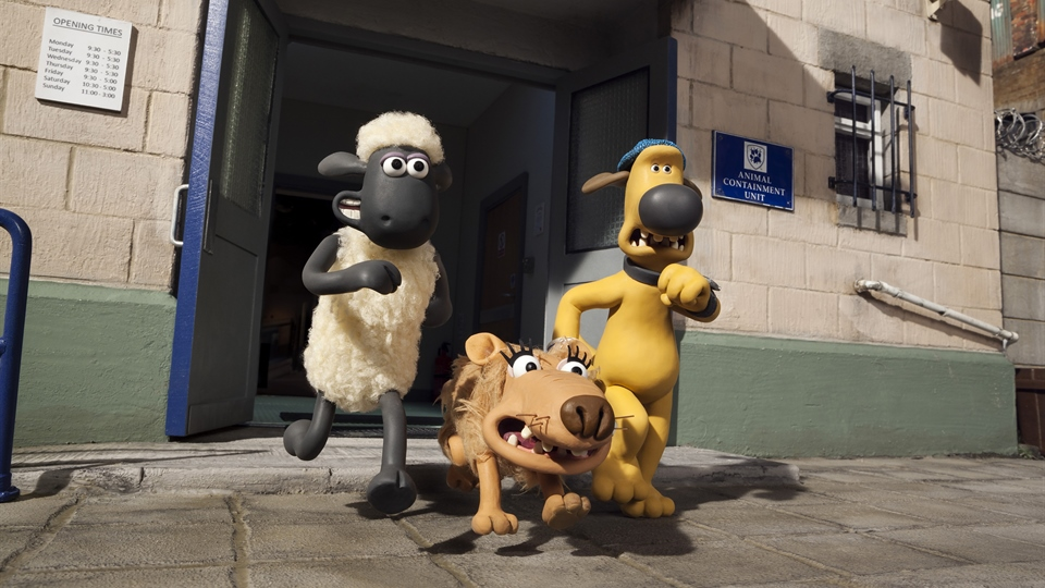 Baranek Shaun. Film (HD)
