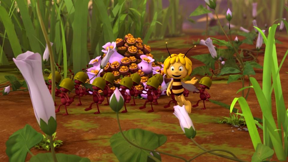 Pszczółka Maja cz. 2: Spacer królowej